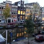 アムステルダム・運河沿い