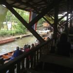 タイ・・・水上マーケットです。